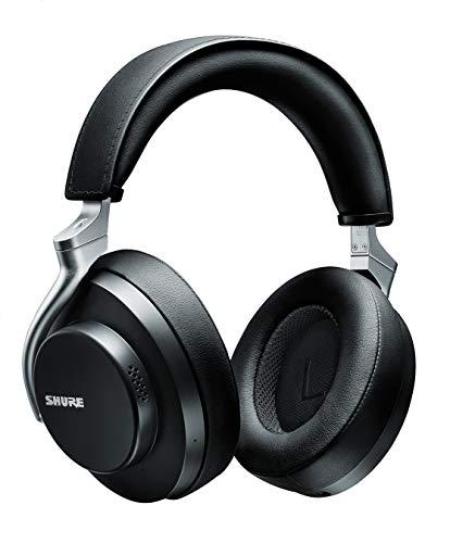 SHURE シュア AONIC 50 ワイヤレス・ノイズキャンセリング・ヘッドホン SBH2350-BK-J ブラック : 密閉型/外音取り込み/Bluetooth 5.0 / Type-C ケーブル/マイク付き 【国内正規品/メーカー保証2年】