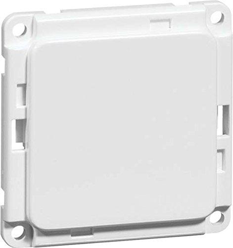 peha Blindabdeckung sw D 777.19 mit Ausschnitten COMPACTA Einsatz/Abdeckung für Kommunikationstechnik 4010105618815