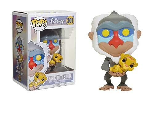 Funko Figura Pop Rafiki con Simba - Disney El Rey Leon