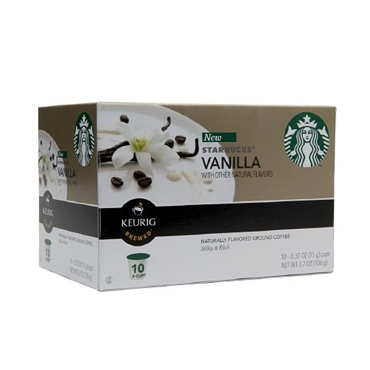 Starbucks Coffee K-Cups, Vanilla 1 ozCoffee K-Cups, Vanilla 1 oz (Pack of 1) wrpsqsgjoam1