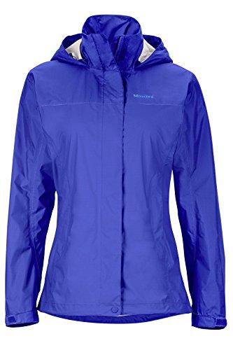 Marmot Women's PreCip Lightweight Waterproof Rain Jacket, Gemstone, S