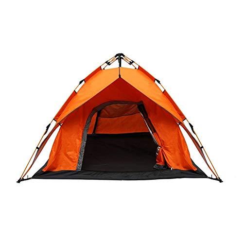 Générique Tente de Tente pour 2 à 3 Personnes instantanée Automatique Double Couche - Vert armée LINABIND, Orange