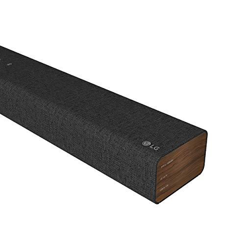 LG Electronics DSP2 Soundbar (100 Watt) mit integriertem Subwoofer (HDMI, Bluetooth) [Modelljahr 2021], Dunkelgrau