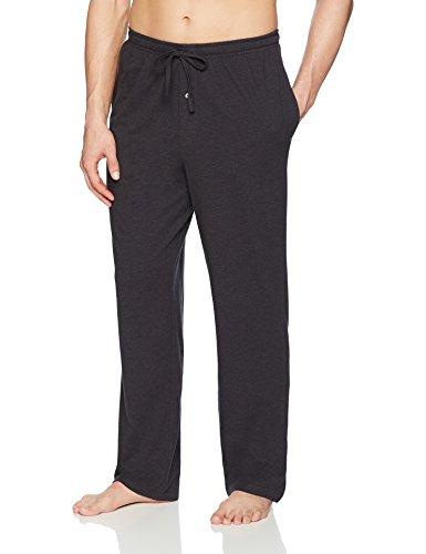 Amazon Essentials MAE90001SP18 Pantalon de Pyjama en Tricot - Homme -Gris (Charbon Chiné) - S