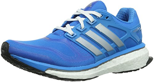 Adidas Energy Boost 2 D66256 Damen Laufschuhe, Blau (Solar Blue S14/Tech Grey Metallic S14/Solar Metallic S14), EU 36 2/3 (UK 4)