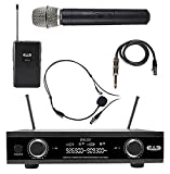 CAD Audio, 2 GXLD2HBAH Digital Wireless Combo Microphone System, Handheld and Bodypack, AH Frequency Band
