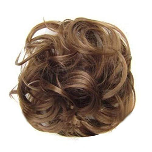 styleinside Chouchous De Cheveux Humains, Curly Désordre Cheveux Bun Extensions Pièces De Cheveux De Mariage Pour Femmes Enfants Cheveux Chignons
