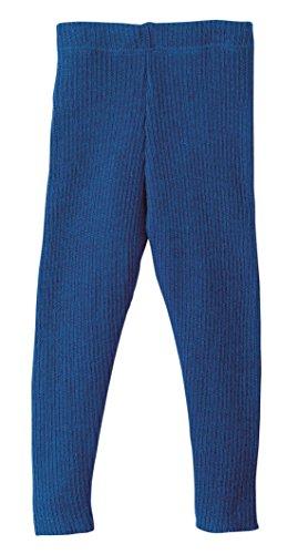 Disana 33209XX - Strick-Leggings Wolle, marine, 86/92