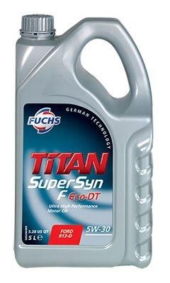 FUCHS ACEA A5/B5 Titan Supersyn F Eco-DT 5W-30 Motoröl 5W-30 5L