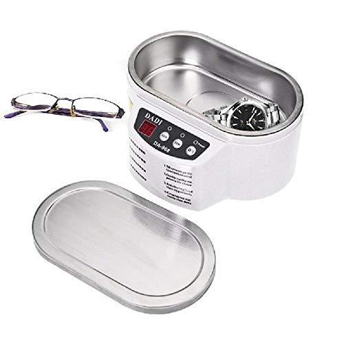 DZSF 600Ml Mini Ultraschallreiniger Schmuck Brille Circuit Board-Reinigungs-Maschine Intelligente Steuerung Ultraschall-Reinigungsbad