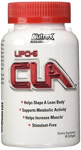 Nutrex Research Lipo-6 CLA (45) Standard, 45 Kapseln
