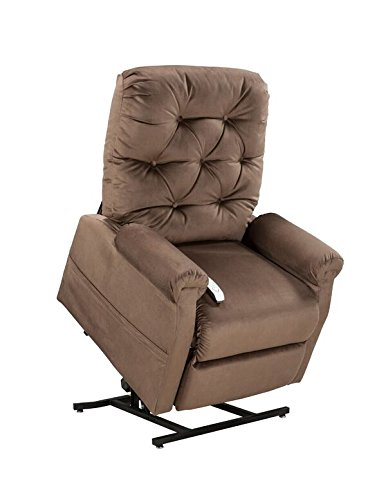 Easy Comfort Lift Chairs 2-Position Lift and Recline Chair, Cocoa