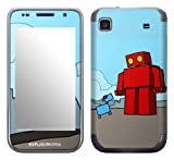 Zing Revolution MS-EXDG40275 EXPLODINGDOG - Red Robot Cell Phone Cover Skin for Samsung Galaxy S 4G (SGH-T959V)