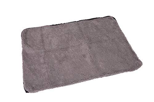brunolie Wechselbezug Ersatzbezug Luna, waschbar, hygienisch und rutschfest, Grau, Größe L