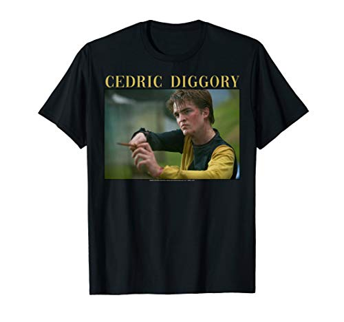 Harry Potter Cedric Diggory Wand Portrait T-Shirt