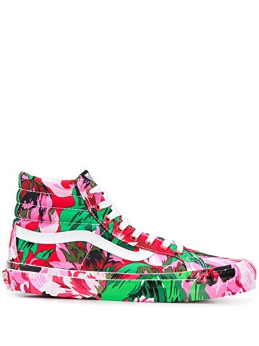 Kenzo Luxury Fashion Herren FA55SN600F8721 Rosa Baumwolle Hi Top Sneakers   Herbst Winter 20