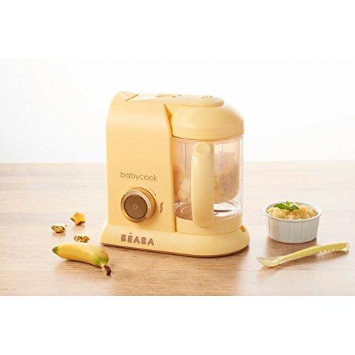 Béaba Babycook Solo MACARONS Edición Limitada - Robot de cocina 4-en-1 (UK IMPORT - Color: Vainilla)