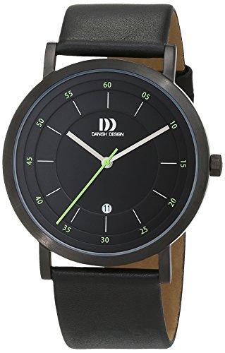 Danish Design 3314528 - Orologio da polso Uomo, Pelle, colore: Nero