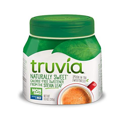 Truvia Spoonable Natural Stevia Sweetener, 9.8 Ounce (Pack of 1) Jar