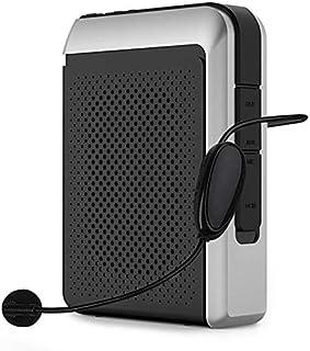2.4G sans Fil Amplificateur De Voix, 30W Système Portable Rechargeable Enceinte De Sonorisation avec Micro-Casque sans Fil...