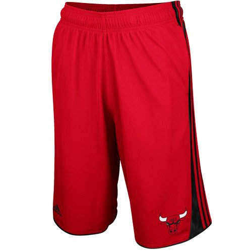 NBA Chicago Bulls Youth 8-20 3 Point Short, Red, X-Large