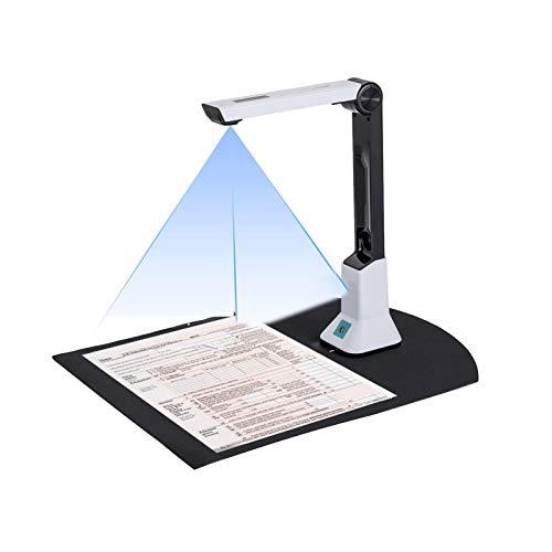 Dokumentenkamera-Scanner Für Lehrer,Tragbarer HD-Dokumentenscanner Größe A4,Tragbarer USB-Kamera Scanner,Für Dateierkennung, Klassenzimmer,Online-Unterricht Und Büro