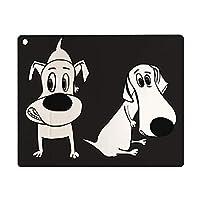 iPad 8 ケース 2020 iPad 10.2 ケース 第7世代 2019 犬のキャラクター画像1 軽量 傷防止 オートスリープ ウェイク スマートケース iPad 10.2インチ ハードカバー