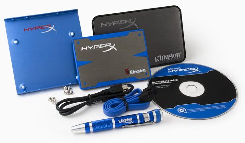 Kingston 480GB SSD Kingston HyperX SATA3 6,4cm 2,5Z Upgrade Bundle Kit