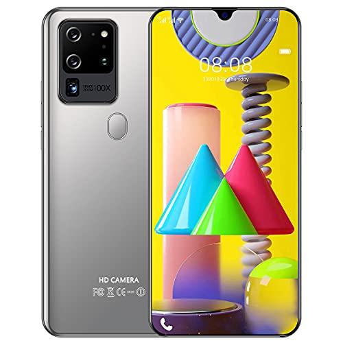 Teléfono Inteligente, versión Internacional de 7.1 Pulgadas, teléfono móvil de 12 GB + 512 GB, batería de 5600 mAh, para Sistema Android OS 10, teléfonos móviles adecuados para Personas Mayores
