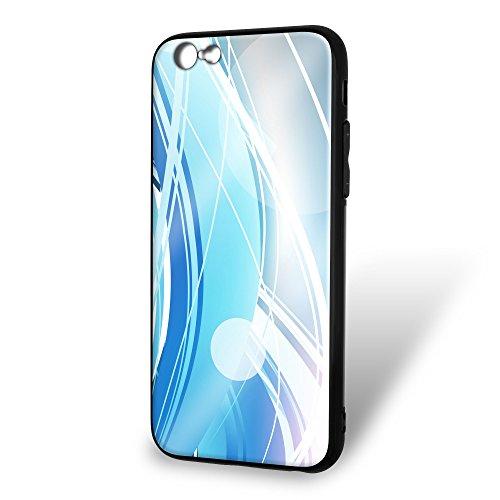 ホワイトナッツ iPhone6s ケース ガラス プリント TPU パターンE (wn-131) スマホケース カバー ラインエフェクト WN-PR386703