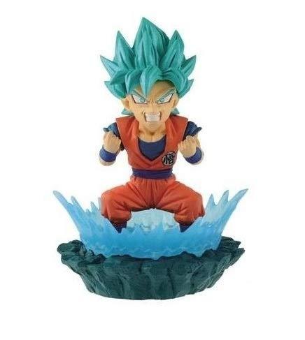 Prize World Collectable Diorama WCD Dragon Ball VOL. 1 Goku SSJ Blue Super Saiyan
