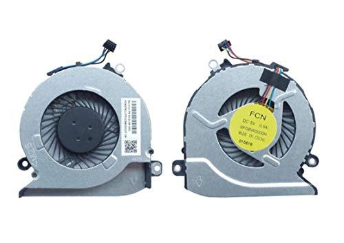 HuiHan Reemplazo para ventilador de refrigeración HP Pavilion 17G 17-G100 17-G101DX 17-G179NB 17-G053US 812109-001