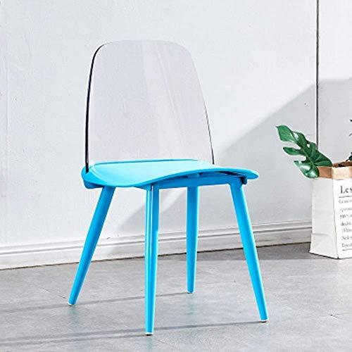 N/Z Living Equipment Esszimmerstuhl Esszimmerstühle und Kaffeestühle für ungezwungene Wohn- und Esszimmer im Restaurant Restaurant Soft Esszimmerstuhl (Farbe: Zwei Größe: 51x44x80cm)