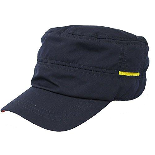 レインキャップ ワークキャップ 撥水加工 ゴルフ 帽子 メンズ レディースBCH-30111 16ネイビー