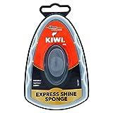 Kiwi Esponja autoabrillantadora para la limpieza de zapatos, color negro
