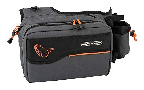 Savage Gear Sling Shoulder Bag (20 x 31 x 15 cm), incluye 1 caja de pesca para pesca de spinning, bolsa de hombro, bolsa de spinning, bolsa para intermitentes, bolsa de pesca