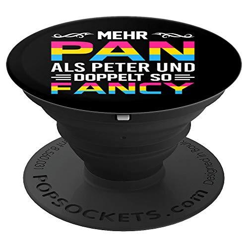 cooler Spruch LGBTQ Pansexuell Pansexualität LGBT - PopSockets Ausziehbarer Sockel und Griff für Smartphones und Tablets