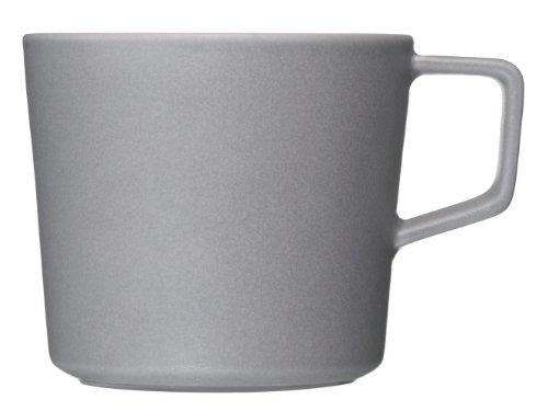 ヤマト陶磁器 ARITA JIKI ティーマグ グレー 963-6422