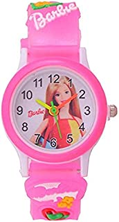 Capture Fashion™Analogue White Dial Girl's Watch