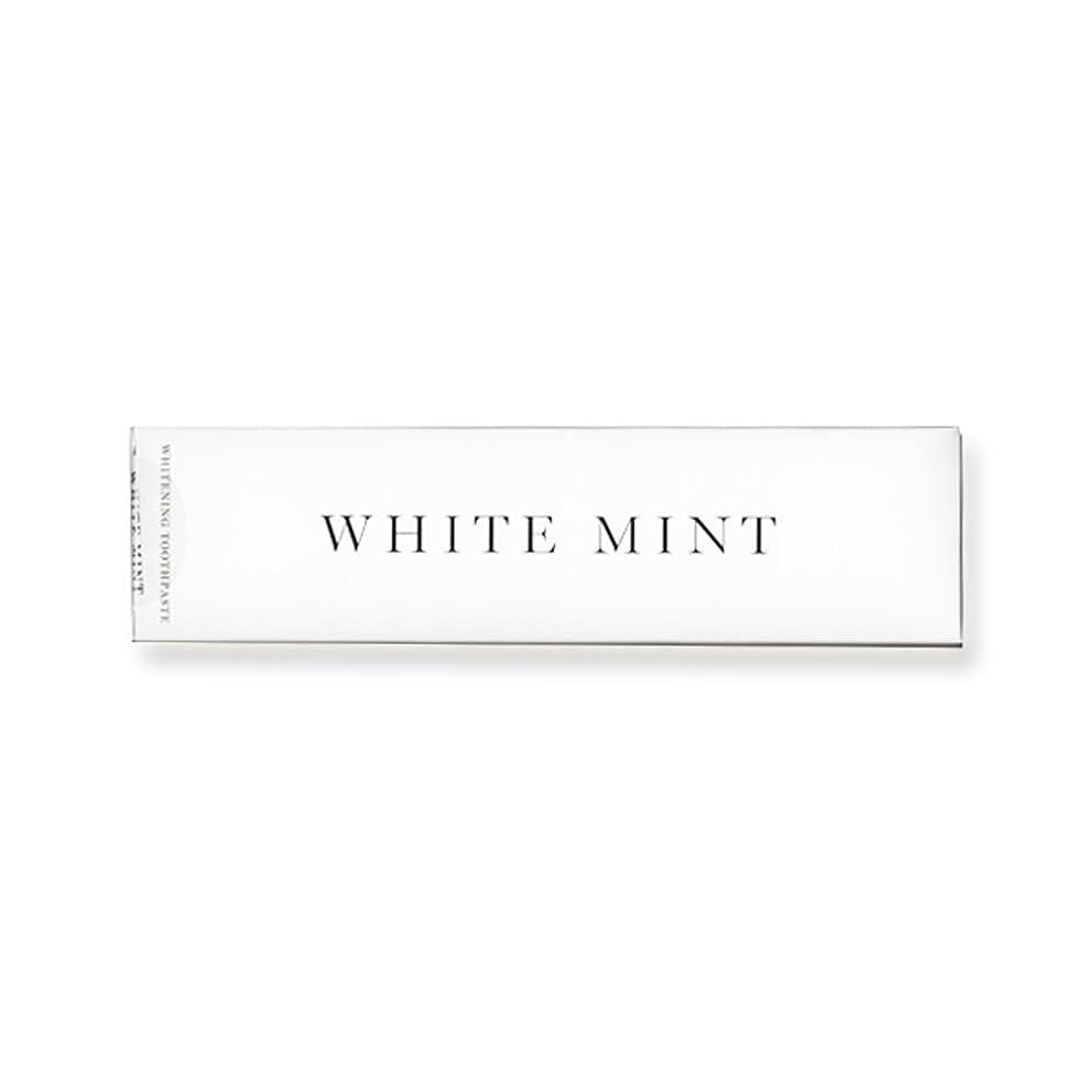 世論調査正統派距離ホワイトミント 130g (旧シルクホワイト)