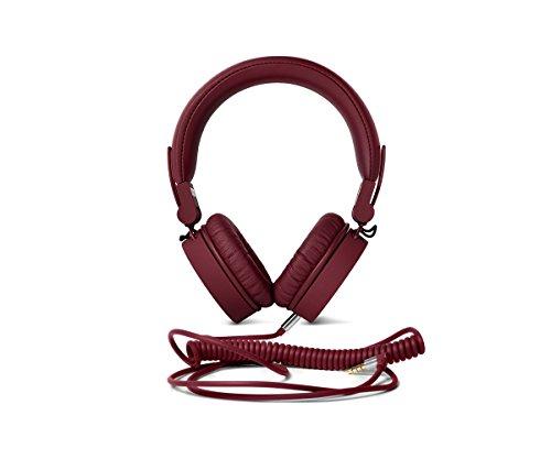 Fresh  n Rebel Caps Headphones, Cuffie On-Ear con cavo, Richiudibili, Microfono e Comandi Smartphone Android iOS Laptop PC MP3, Rosso Ruby