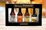 Estuche 4 cervezas artesanas seleccionadas Cerveza Premium