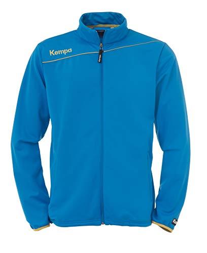 Kempa classic Sweat Shirt Bleu Bleu/doré XXS