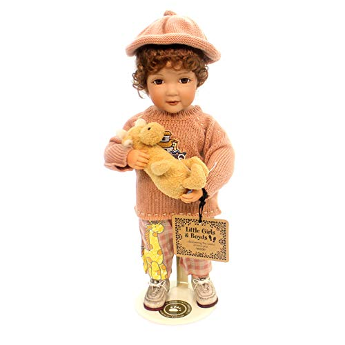 Boyds Collection Doll 'MADDIE with Tyke ... Noah's Helper' #4709