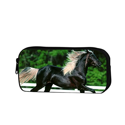 GIVE ME BAG Generic Fashion Adult Horse Pencil Case for Work Personalized Polyested Pencil Bags