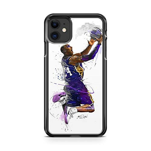 PEWORWEY Case/Handyhülle/Hülle/Coque/Custodia/Carcasa/Cover/Shell,Kobe Bryant DIY Phone Case for iPhone 6/6S, Kobe-Bryant,[K408-1022]