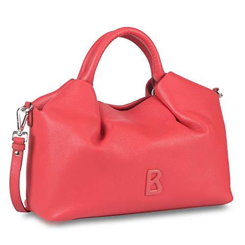 Bogner Damen Andermatt Korin Handbag Mho Henkeltasche, Rot (Red), 15x27.5x33 cm