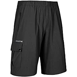 top rated qualidyne Men's Mountain Bike Shorts Mountain Bike Lightweight 3D Padded Cycling Shorts for Casual… 2021