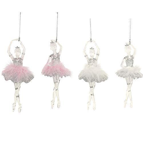 Gisela Graham - Adorno para árbol de Navidad, diseño de bailarina