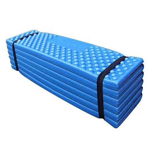 Manta de Picnic Dormir a Prueba de Humedad del cojín Inflable topselling Cama for Dormir con la Almohadilla colchón de Aire del Amortiguador de Viajes Estera de la Tienda (Color : Style1 Blue)